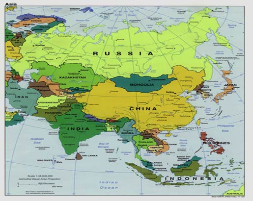 Kids Dance Asia Cultural Dancing in Asia – Map of the Oriental Countries