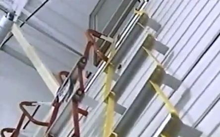 Pearl fire escape ladder
