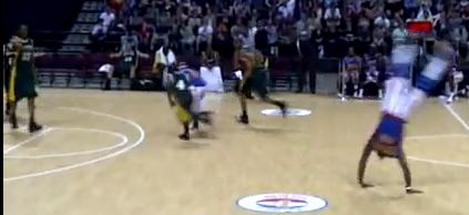Harlem Globetrotter tricks
