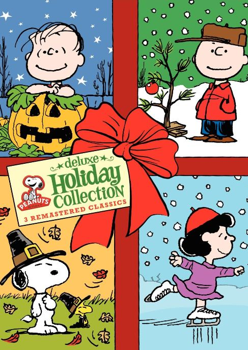 holiday collection dvd peanuts and snoopy