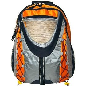 orange backpack for kids
