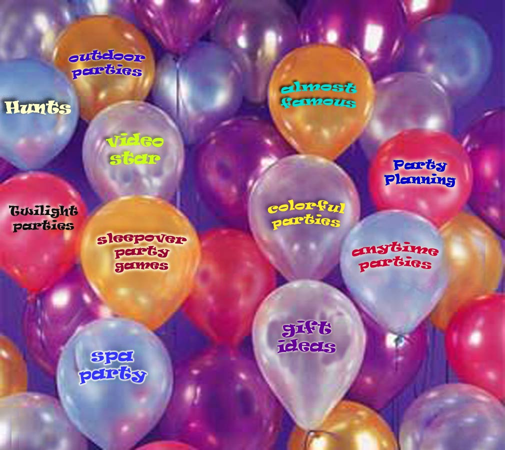 balloons kids parties