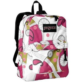 Pink Jansport Backpack for girls